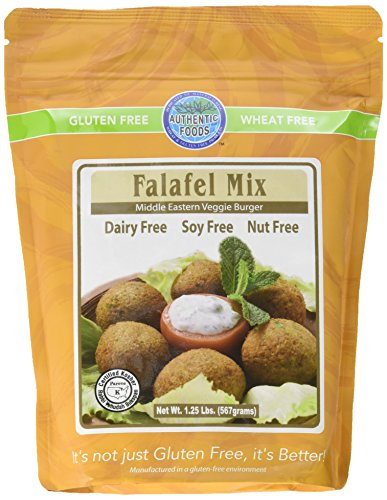 Authentic Foods Gluten Free Falafel Mix, 20 Ounce