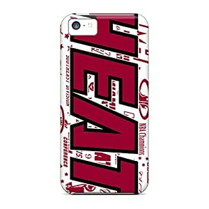 Awesome LastMemory Defender Tpu Hard Case Cover For Iphone 5c- Miami Heat
