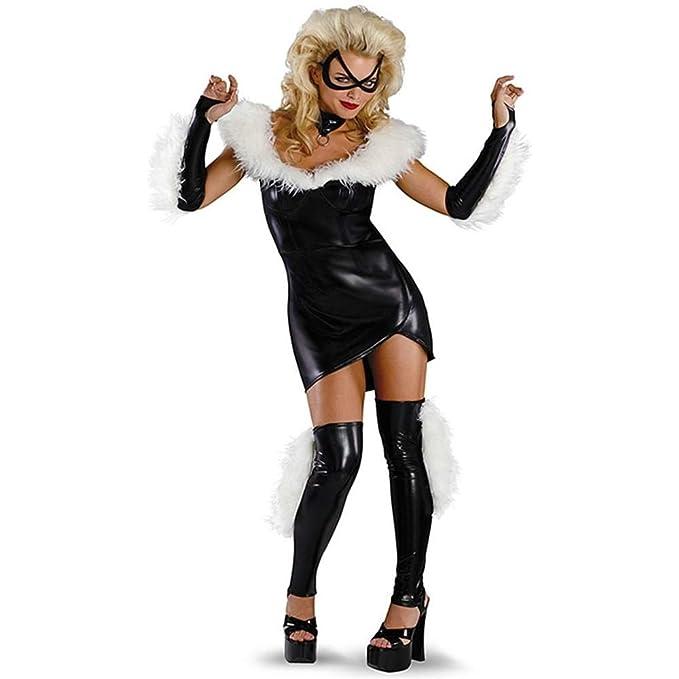 The Amazing Spider-man - Black Cat Sassy Prestige Adult Costume Size 4-6  sc 1 st  Amazon.com & Amazon.com: Marvel Black Cat Sexy Prestige Adult Costume: Clothing