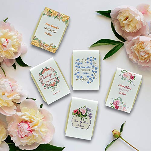 10 Unique and personalized bridal shower soap favors, Vegan favors, Party favors, Party gifts, Bride Party, Handmade bridal favors ()