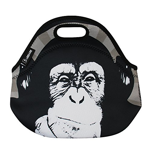 Lunch bag for Boys Men Girls Women Kids-Monkey ()