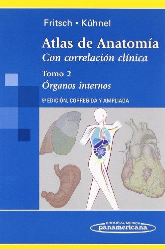 Descargar Libro Atlas De Anatomía: Atlas De Antomía. Con Correlación Clínica: Órganos Internos: 2 Helga Fritsch