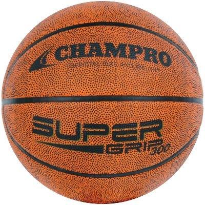 CHAMPRO Easy Grip Rubber Basketball (Brown, Junior/27.0) ()