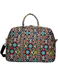 Vera Bradley Luggage Womens Grand Traveler Sierra Duffel Bag