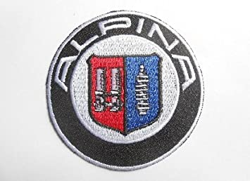 IRON ON PATCH: ALPINA a MOTORSPORTS MOTOR RACING SEW ON