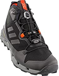 adidas outdoor Terrex Fast GTX-Surround Hiking Boot - Mens Black/Black/Vista Grey, 11.0