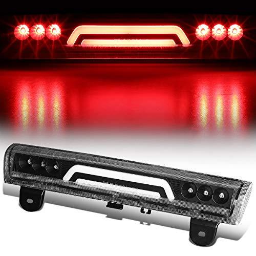 (3D LED Bar Rear Center Third 3rd Tail Brake Light for 00-06 Chevy Tahoe/Suburban GMC Yukon XL (Black))