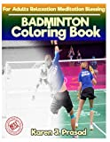 BADMINTON  Coloring book for Adults Relaxation