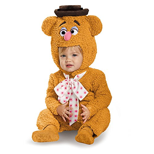 Disguise Baby's Fozzie Infant Costume, Brown, 12-18 Months