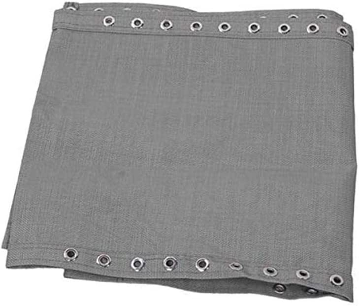 Anti-invecchiamento Fodera in Tessuto per Sedia Reclinabile Resistente E Facile da Pulire Cuscino Traspirante Durevole Traspirante con Cuscino di Ricambio per Sdraio Grigio 63x17 Pollici
