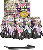 LFS GLOVE CTDWG1850AC 001564 Wonder Grip Nearly Naked Glove Counter Top Display, 48 Piece