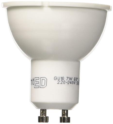 LightED Bombilla LED, 3000 K GU10, 7 W, Blanco, 50 x 55 mm ...