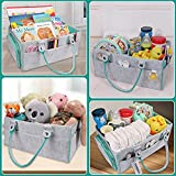 Baby Diaper Caddy Organizer for Boy or Girl Large