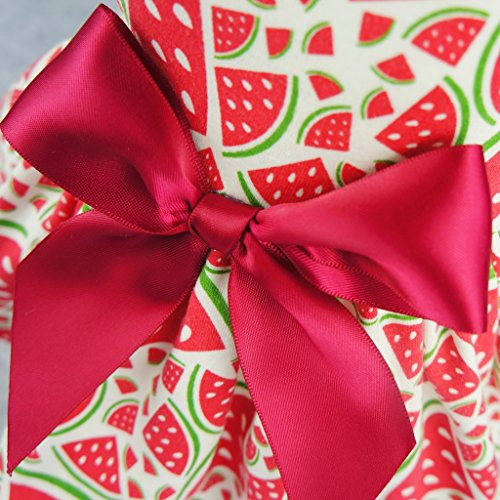 Fitwarm-Sweetie-Watermelon-Pet-Clothes-for-Dog-Dress-Sundress-Shirts-Red