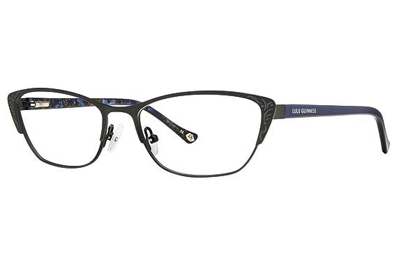 Amazon.com: Lulu Guinness L762 Womens Eyeglass Frames - Black: Clothing