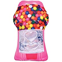 iscream 780-275 Summertime Sweets Bubble Gum Scented Gumball Machine Microbead Pillow