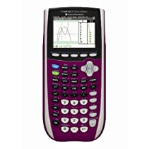 Texas Instruments TI-84 Plus C Silver Edition Graphing Calculator, Raspberry