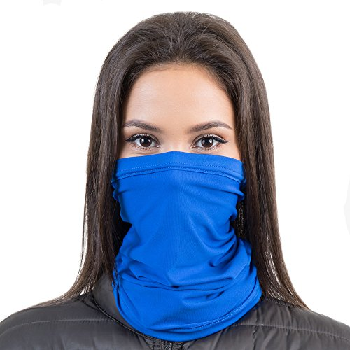 Turtleneck Fleece Micro (French Fitness Revolution Fleece Neck Warmer [Solids] / Reversible Neck Gaiter Tube, Ear Warmer Headband, Mask & Beanie. Ultimate Thermal Retention, Versatility & Style. Performance Comfort Fleece)