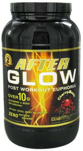 BioRhythm - AfterGlow Post Workout Euphoria Cherry Bomb - 4.23 lbs.