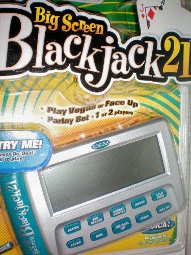Big Screen Blackjack 21 -- Big Screen Blackjack21 -- Play Vegas or Face Up -- Parlay Bet -- 1 or 2 Players