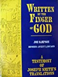 Written by the Finger of God, Joe Sampson, 1884312055
