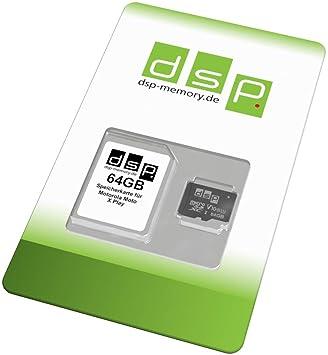 Tarjeta de Memoria de 64 GB (Class 10) para Motorola Moto X ...
