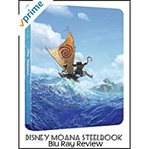 Review: Disney Moana Steelbook Blu Ray Review