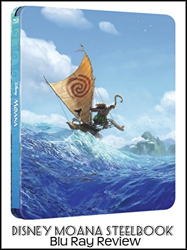 Review  Disney Moana Steelbook Blu Ray Review