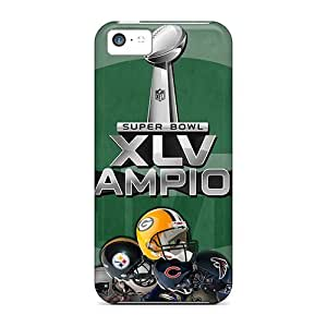 [aNn1743EUBG]premium Phone Case For Iphone 5c/ Green Bay Packers Tpu Case Cover