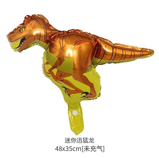 CTOBB Dinosaurio temático Placa de Papel del Partido/de la ...
