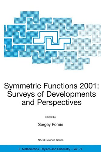 Symmetric Functions 2001: Surveys of Developments and Perspectives: Proceedings of the NATO Advanced Study Instutute on Symmetric Functions 2001: ... 25 June–6 July 2001 (Nato Science Series II:) pdf