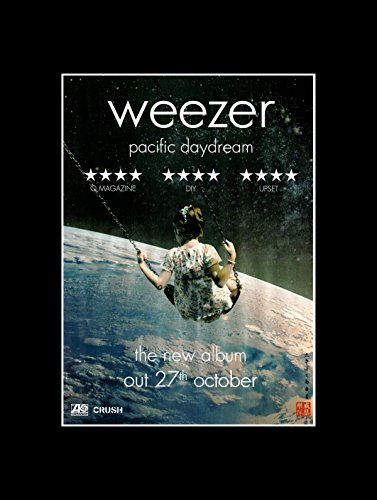 Stick It On Your Wall Weezer - Pacific Daydream