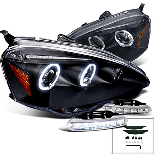 Acura Projector Headlights Black Lamps