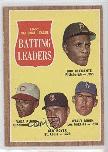 Roberto Clemente Memorabilia (Roberto Clemente; Vada Pinson; Ken Boyer; Wally Moon Roberto Clemente (Baseball Card) 1962 Topps - [Base])