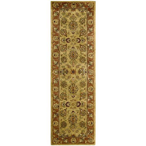 Nourison Jaipur (JA28) Gold Runner Area Rug, 2-Feet 4-Inches by 8-Feet  (2'4