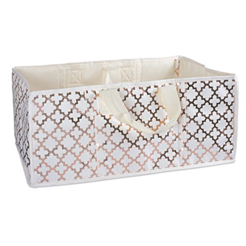 DII All-Purpose Storage Tote with Two Compartments to Div...