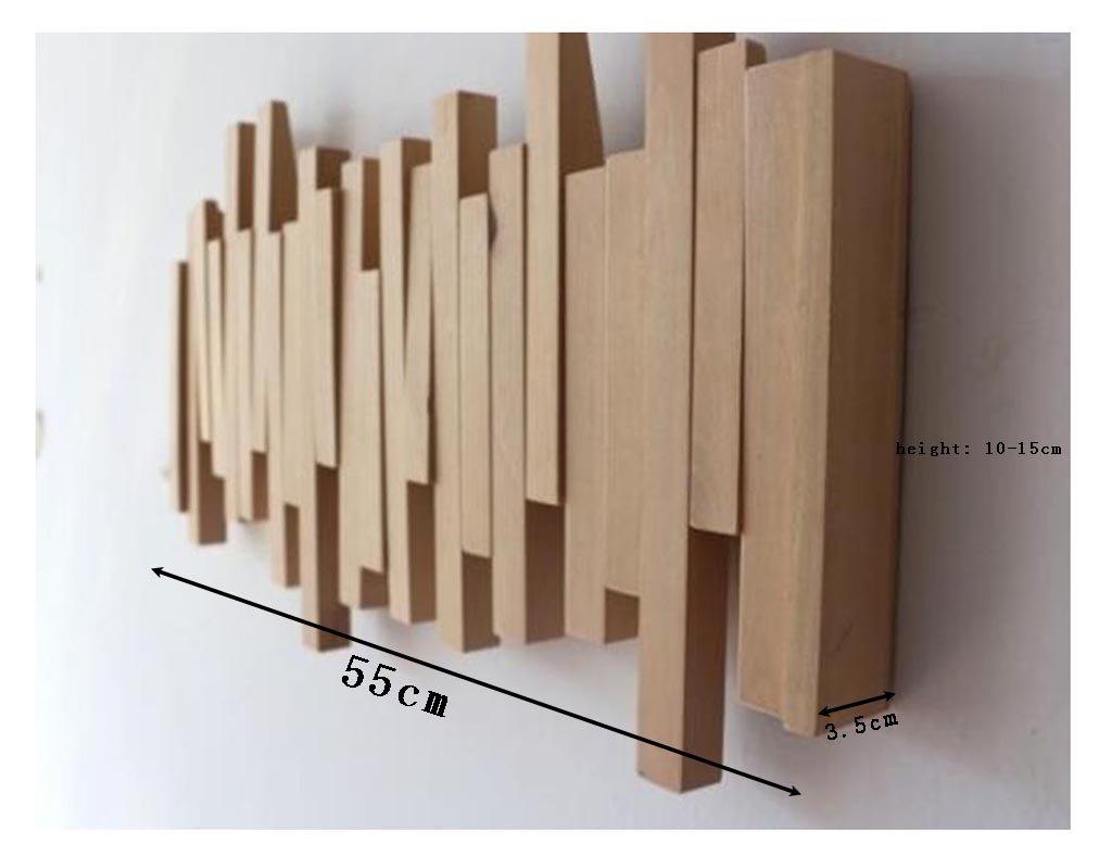 Amazon.com: Ganchos de pared creativos para colgar ropa de ...