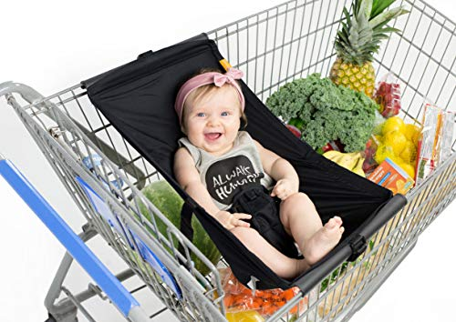 BINXY BABY Shopping Cart Hammock | The Original | Ergonomic Infant Carrier + Positioner ()