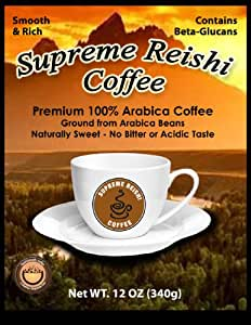 Supreme Reishi Coffee - ReishiSmooth (Ganoderma)