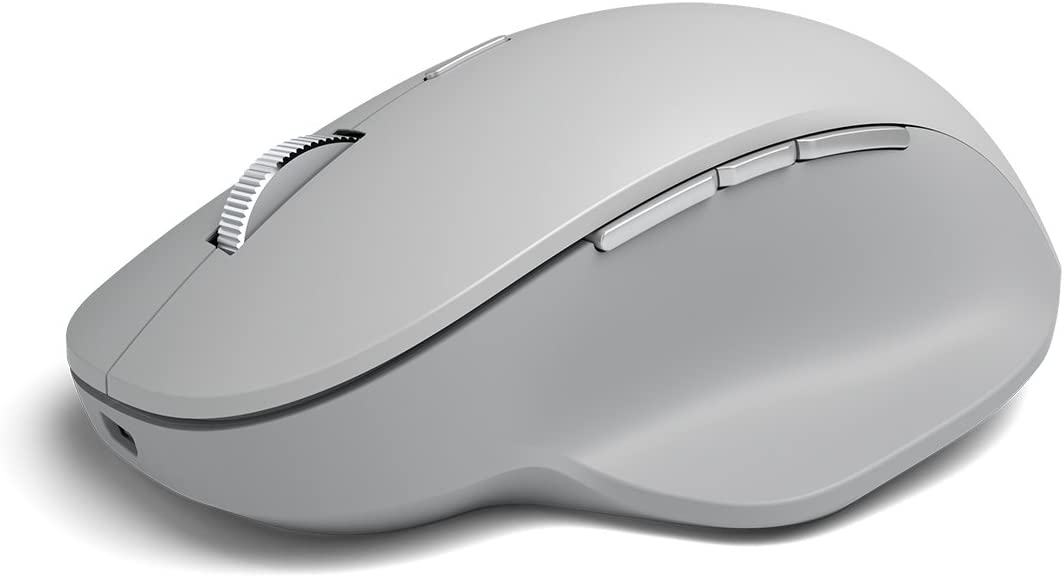 mouse Microsoft Surface Precision gris claro