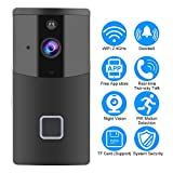 Wireless WiFi Smart Video Doorbell,Acogedor HD Home Security Camera,Two-Way Voice with Echo Cancel Function,APP Control for iOS and Android