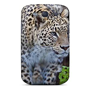 DonaldWS Snap On Hard Case Cover Stalking Leopard Protector For Galaxy S3