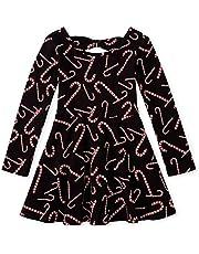 فستان ذا تشيلدرينز بليس بأكمام طويلة بثنيات