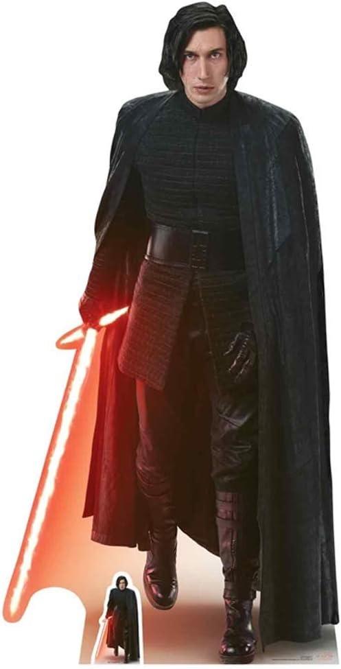 STAR CUTOUTS Kylo Ren Legno 188/x 95/x 188/cm l ultimo Jedi Multicolore Sagomato