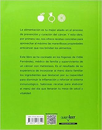 Mis Recetas De Cocina Anticancer (Spanish Edition) Durable Modeling