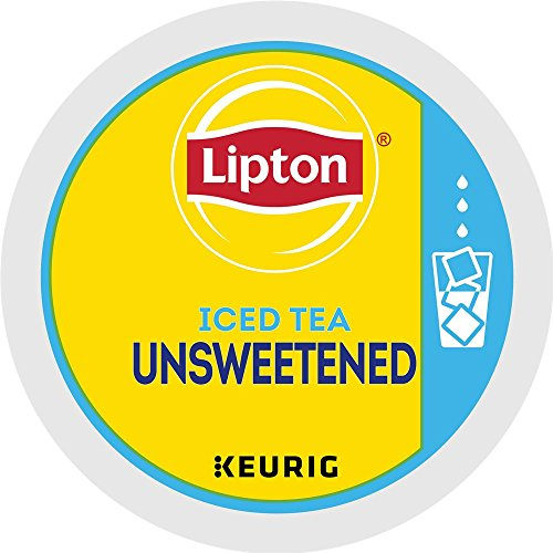 Lipton Classic Unsweetened Iced Tea single serve capsules for Keurig K-Cup Pod brewers