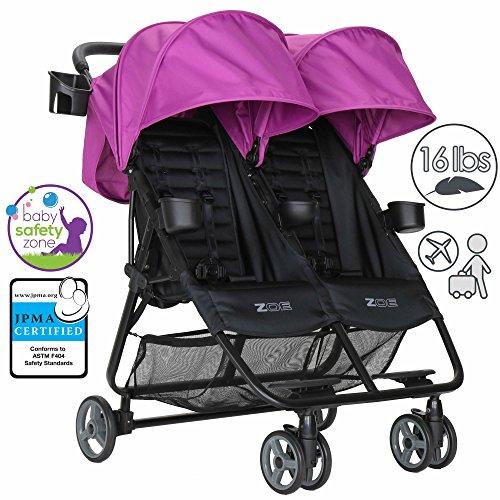 Best Lightweight Twin Umbrella Stroller - 1