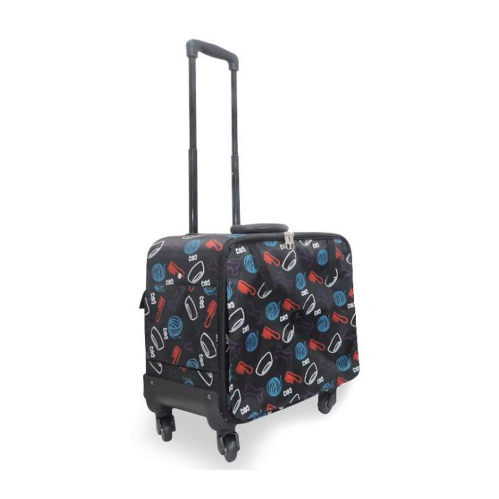 Qi Pet Carrier Trolley Dog Travel Handbag Bag Strollers Portable Pet Teddy Cat Dog Bag With Wheels