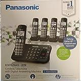 Panasonic cordless 5 handsets talking caller id