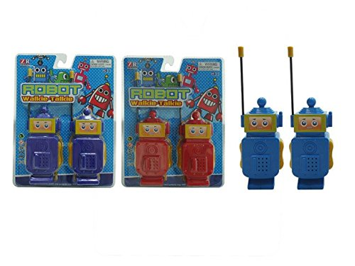 DD Educational Battery Operated Robot Walkie Talkie(Pack of 48) by D&D (Image #1)